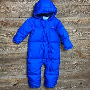 Columbia Baby Snuggly Bunny Bunting Snowsuit Blue